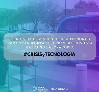 CLÍNICA UTILIZA VEHÍCULOS AUTÓNOMOS PARA TRANSPORTAR PRUEBAS DEL COVID-19 HASTA SU LABORATORIO
