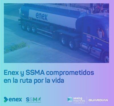 NUESTRO PRIMER CLIENTE ENEX AHORA ESTÁ IMPLEMENTANDO EN LAS FLOTAS DE SUS CLIENTES MINEROS NUESTRA TECNOLOGÍA  GUARDIAN LIVE.