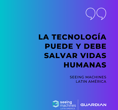 CREEMOS QUE LA TECNOLOGÍA TIENE UNA RESPONSABILIDAD CLARA EN SALVAR VIDAS HUMANAS.
